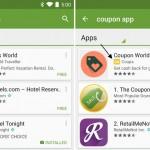 Google Play App Store werden nun auch gesponserte Apps angezeigt