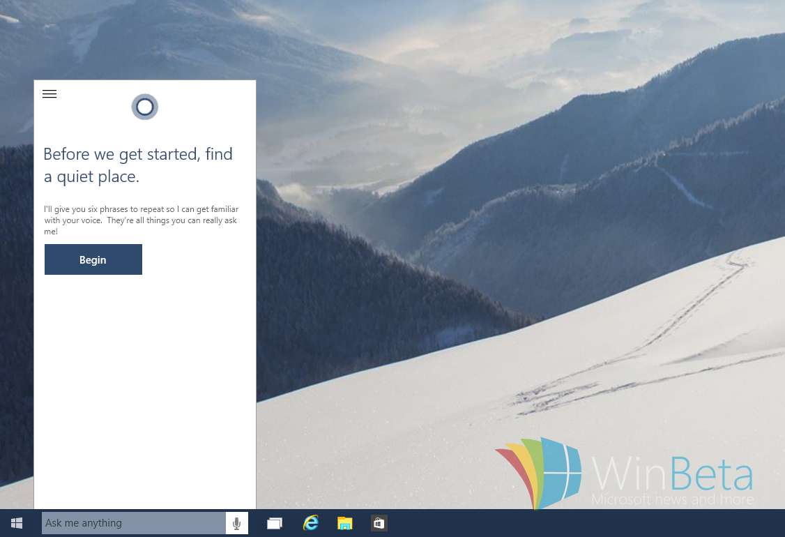 "WIndows 10 – Sprachassistent ""Cortana"" mit Verbesserungen in der Build 10036"