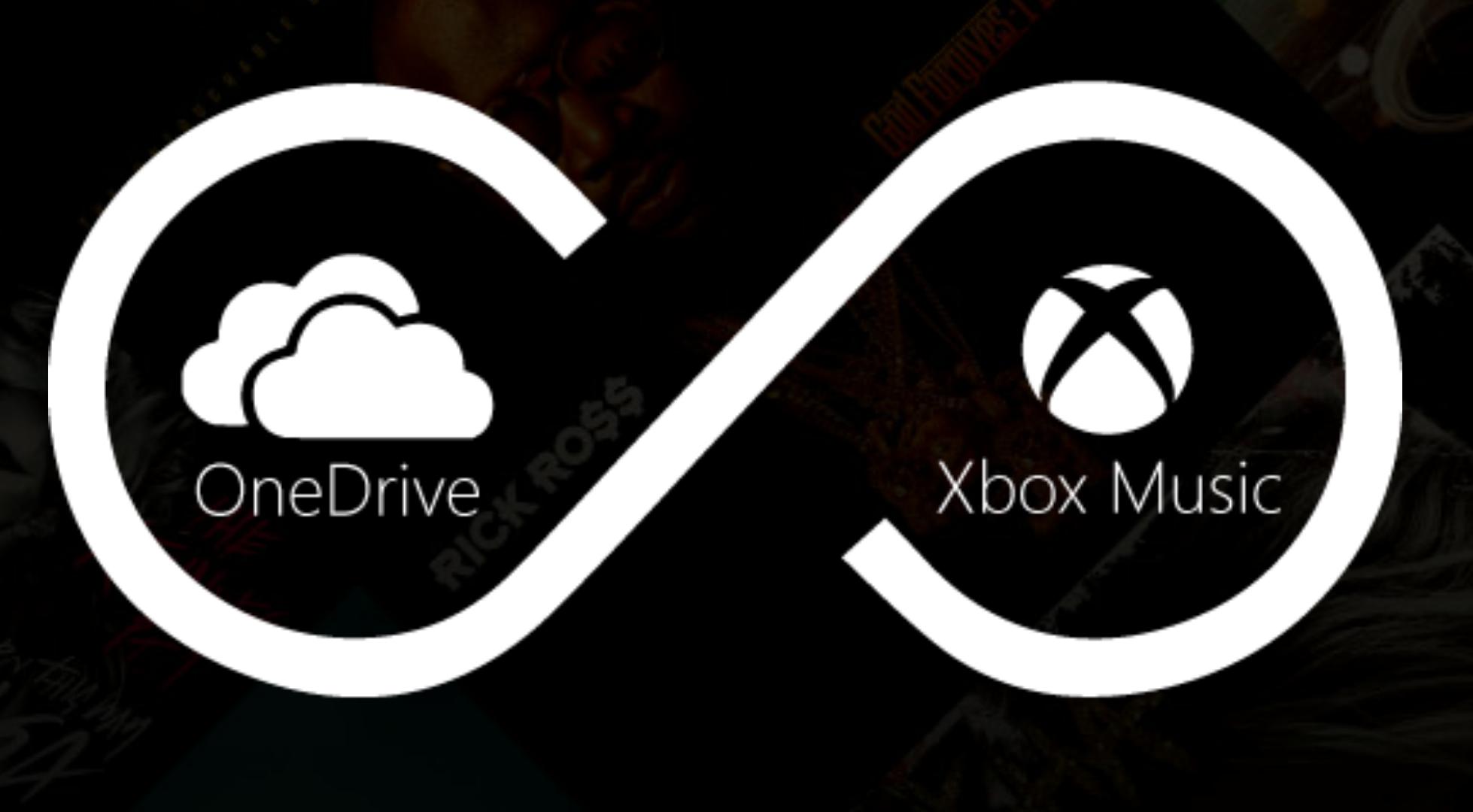 Xbox Music – OneDrive nun als Cloudspeicher nutzbar