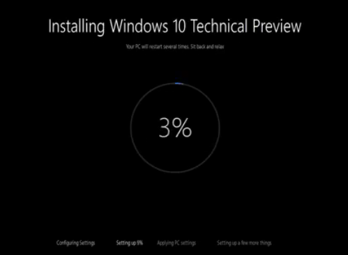Windows 10 – Neues Design der Installation von Windows 10 im Video