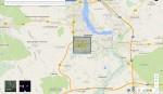 google-maps-packman-starten