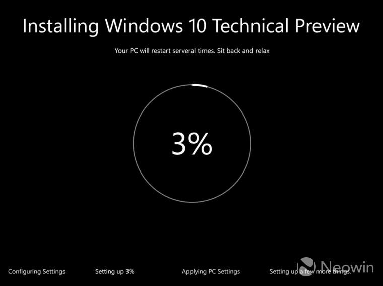 Windows 10 – Microsoft aktualisiert Aussehen der Installation