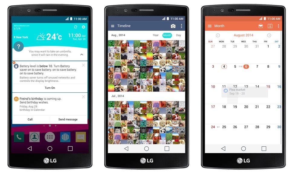 LG G4 zeigt sich auf zahlreichen Bildern