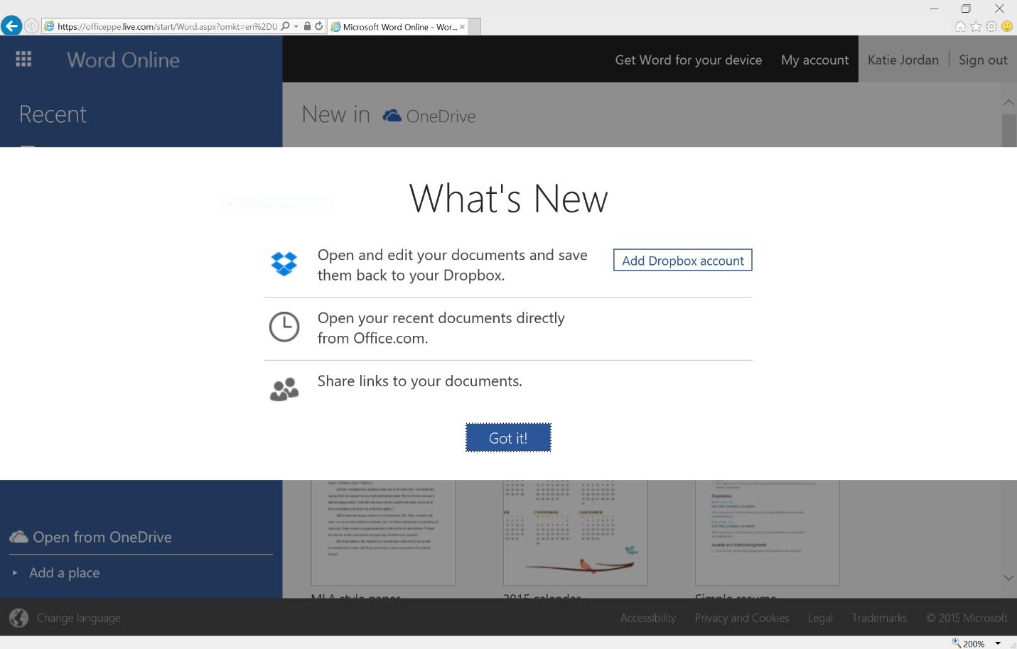 Microsoft Office Online – Bearbeitung von in Dropbox gespeicherten Office-Dokumenten in Dropbox möglich