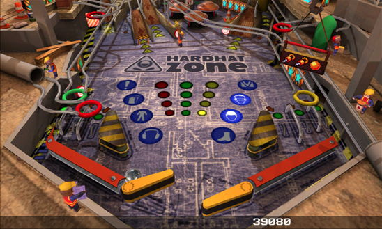 App des Tages Pinball League: HardHat Zone für das Windows Phone
