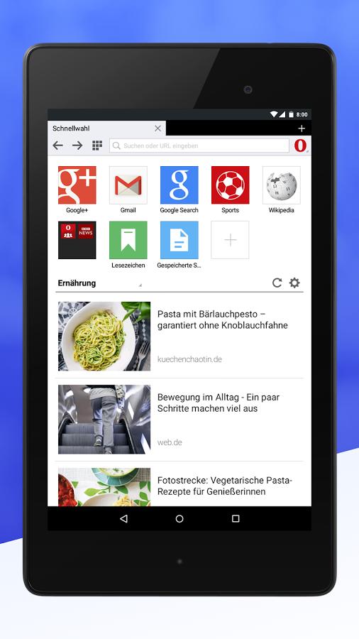 Opera Mini für Android bekommt Update mit überarbeitetem Design und mehr