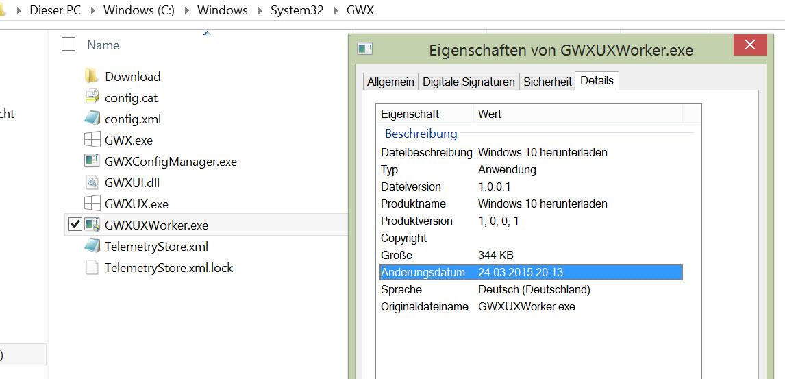 KB3035583 – Update bereitet Download von Windows 10 vor