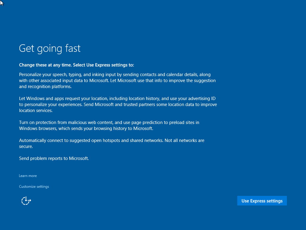 Windows 10 Build 10125 – Neuer Weg, um ein lokales Konto anzulegen?