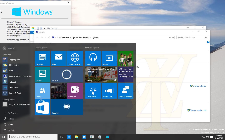 Windows 10 Preview Build 10120 – Screenshots und Release Notes geleakt