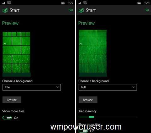 Windows 10 for Mobile – Weitere Screenshots einer unveröffentlichten Preview geleakt