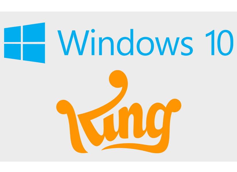Candy Crush Saga wird mit Windows 10 ausgeliefert