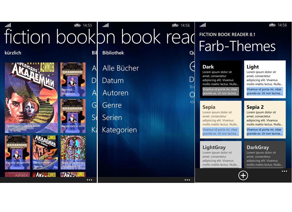 App des Tages: FictionBookReader – E-Book Reader für das Windows Phone