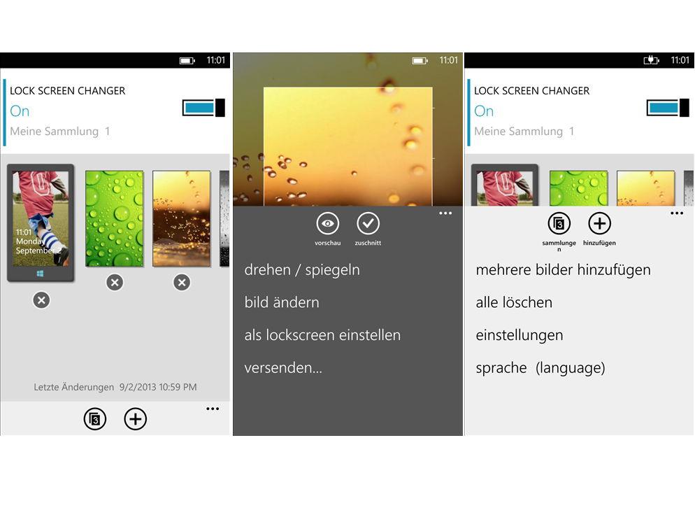 App des Tages: Lock Screen Changer für das Windows Phone heute kostenlos