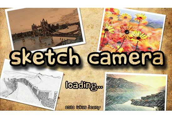 App des Tages: Sketch Camera – Fotos in verschiedene Effekte aufnehmen oder umwandeln