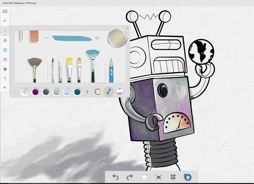 Fresh Paint nun auch als Preview für Windows 10 verfügbar