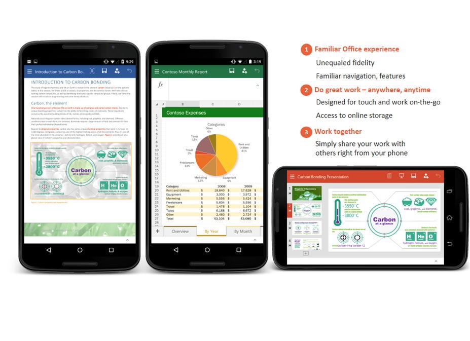 Windows Mobile Office Apps im Ruhestand – Android und iOS werden verbessert
