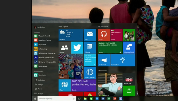 Windows 10 – Neue Screenshots der Preview Build 10105 und 10107