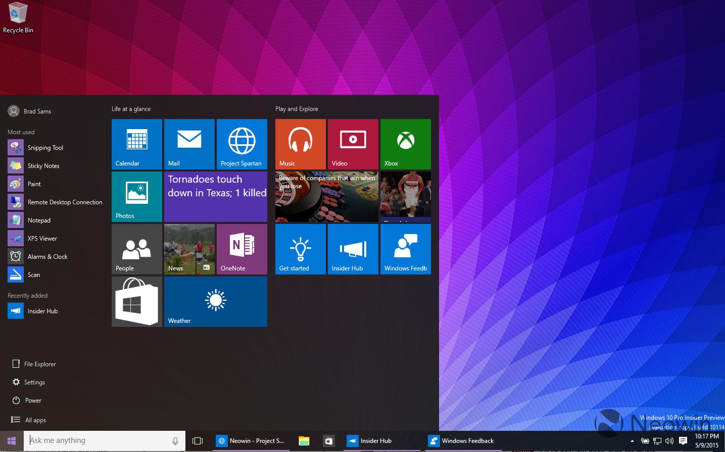 Windows  Redstone  Build