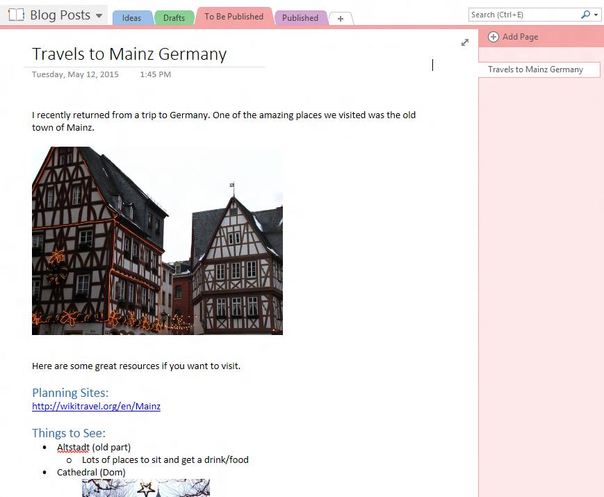 Neues WordPress-Plugin ermöglicht das Importieren von OneNote-Beiträgen