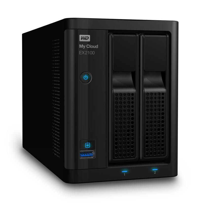 Test der WD My Cloud EX2100 – Solides NAS für den Privatuser