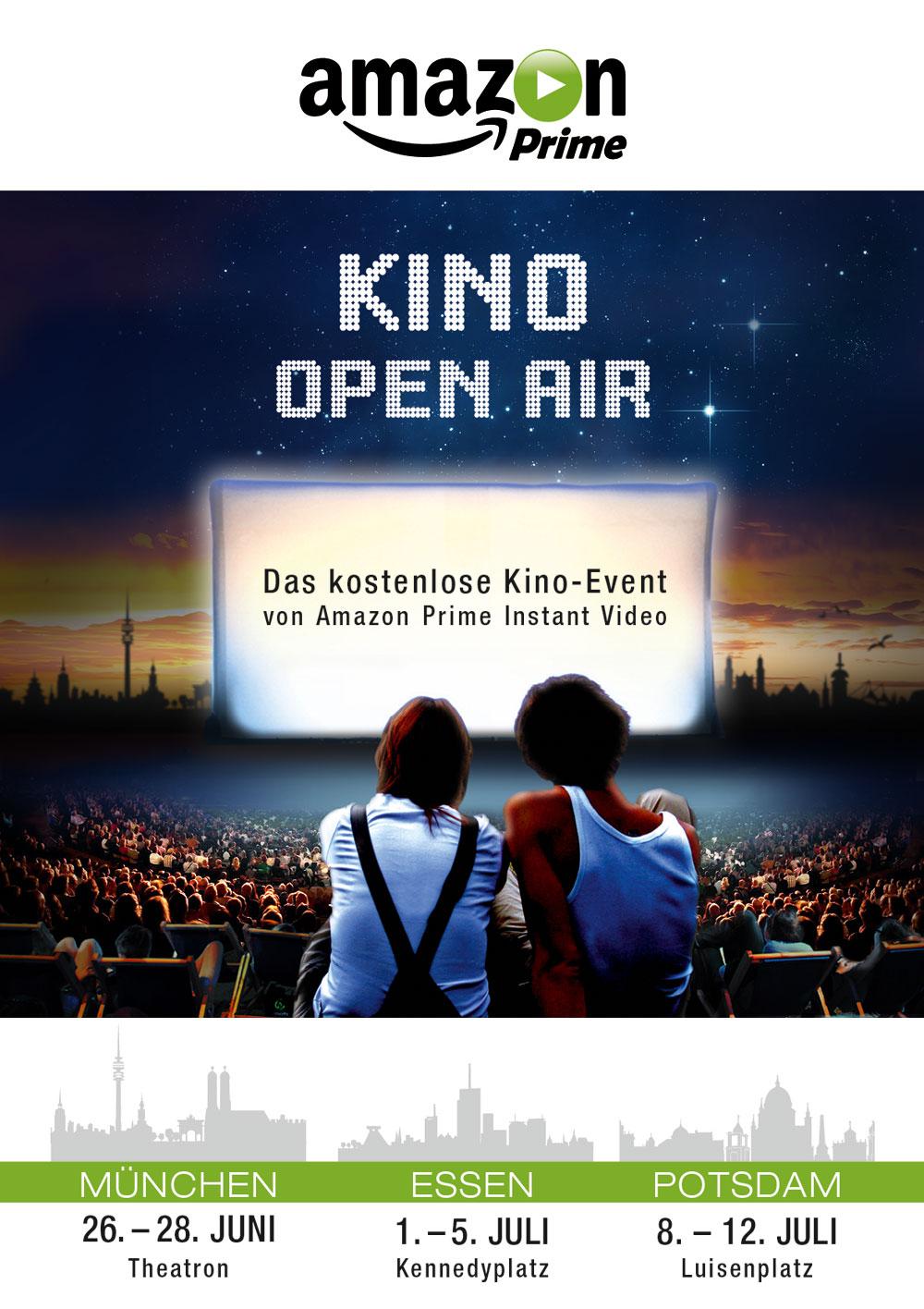 Amazon startet kostenlose Kino-Open-Air-Events