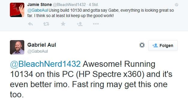 Download der Windows 10 Build 10134 könnte schon bald über den Fast Ring  bereit stehen