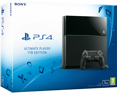 sony playstation 4 ultimate player edition mit 1tb. Black Bedroom Furniture Sets. Home Design Ideas