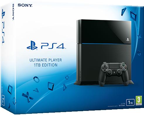 """Sony – PlayStation 4 """"Ultimate Player Edition"""" mit 1TB Speicher vorgestellt"""