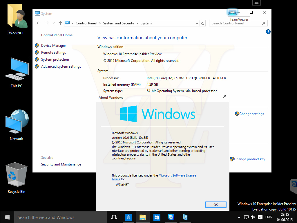 Windows 10 Insider Preview 10135 – Zahlreiche Screenshots geleakt
