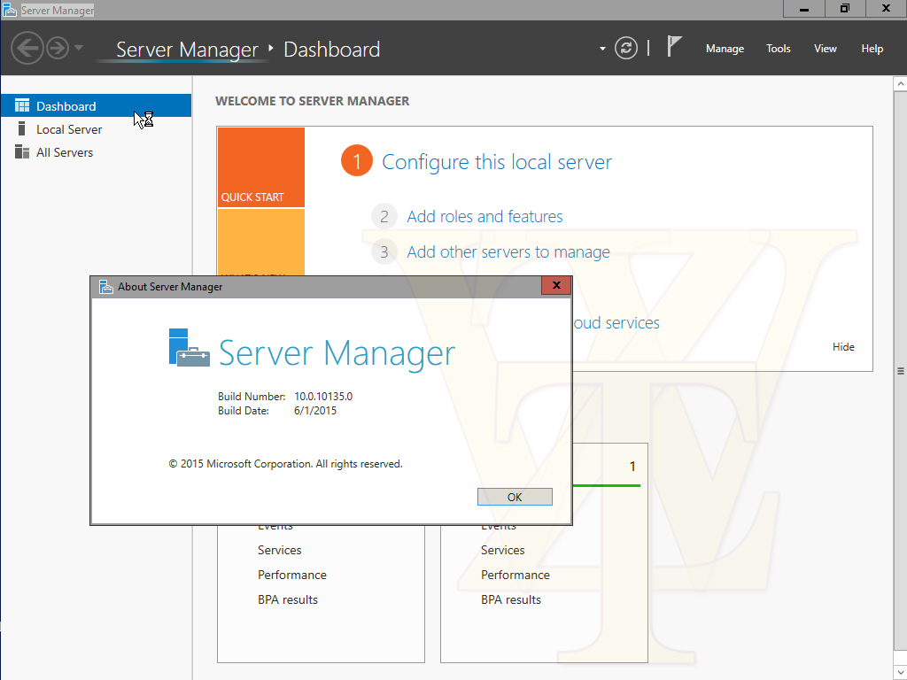 Screenshots der Windows 10 Server Technical Preview 2 geleakt