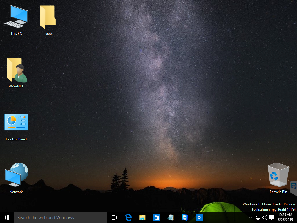 Windows 10 Build 10154 – Zahlreiche Screenshots geleakt