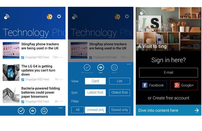 Inoreader – RSS & News Reader nun als Windows Phone App
