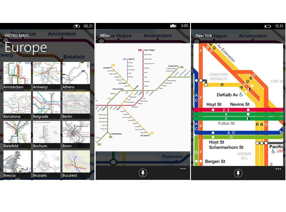 App des Tages: Metro Maps die man auch Offline nutzen kann