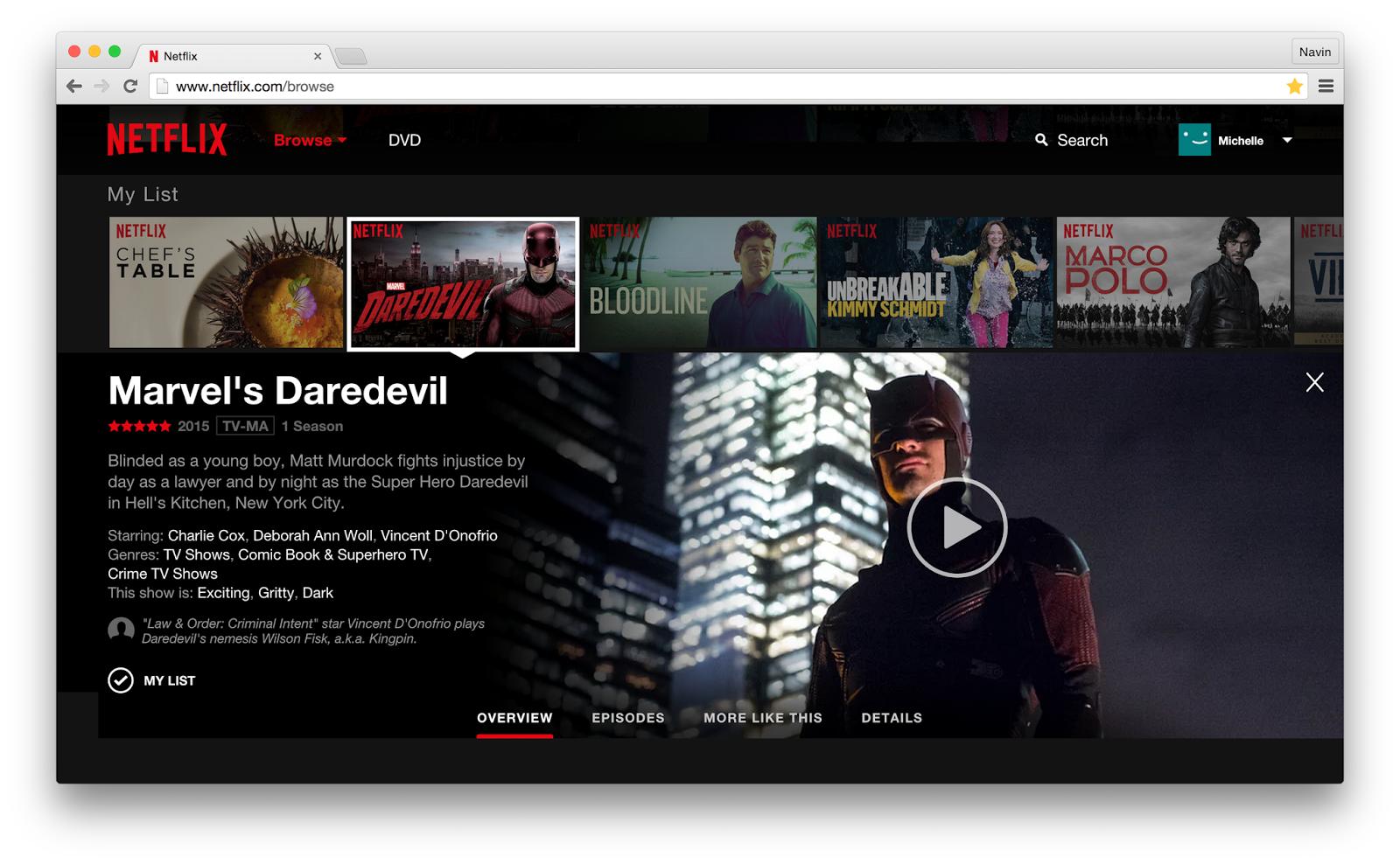 Netflix: Weboberfläche bekommt großes Update spendiert