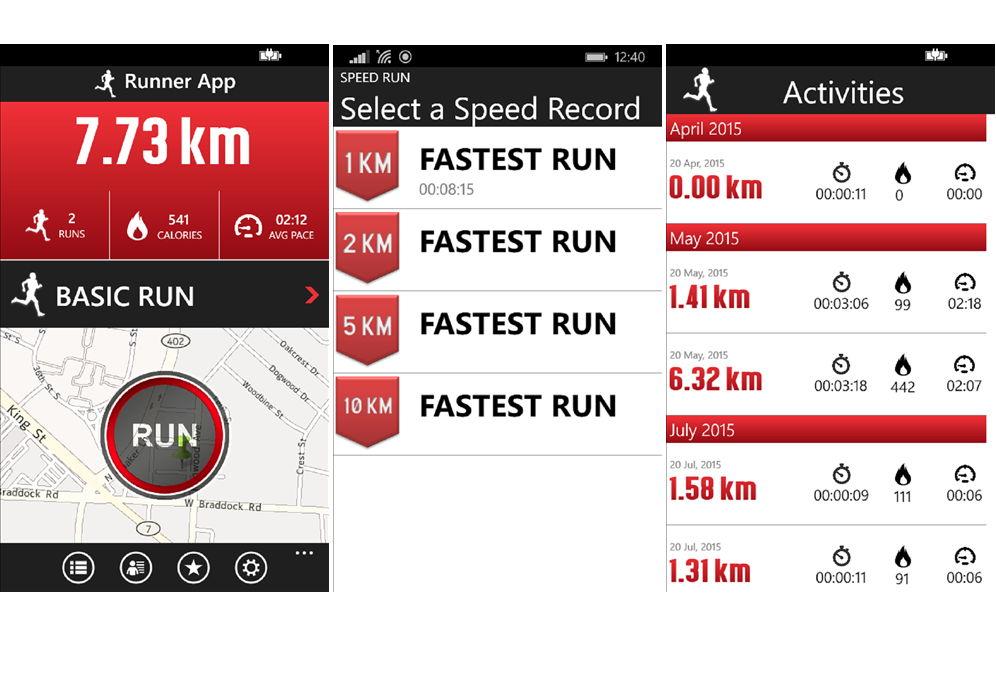 App des Tages: Running+ für das Windows Phone