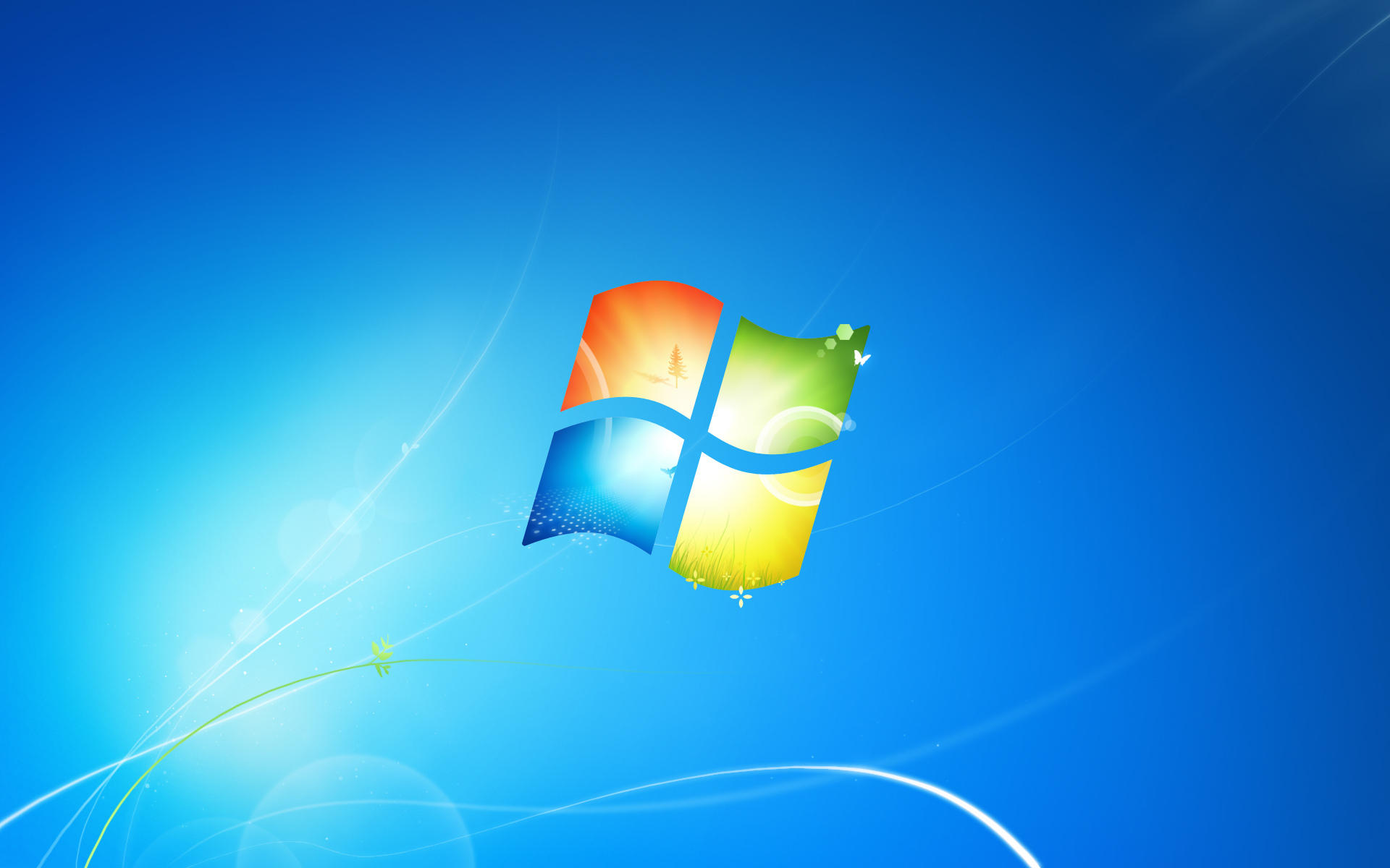 Die Standard-Wallpaper Von Windows
