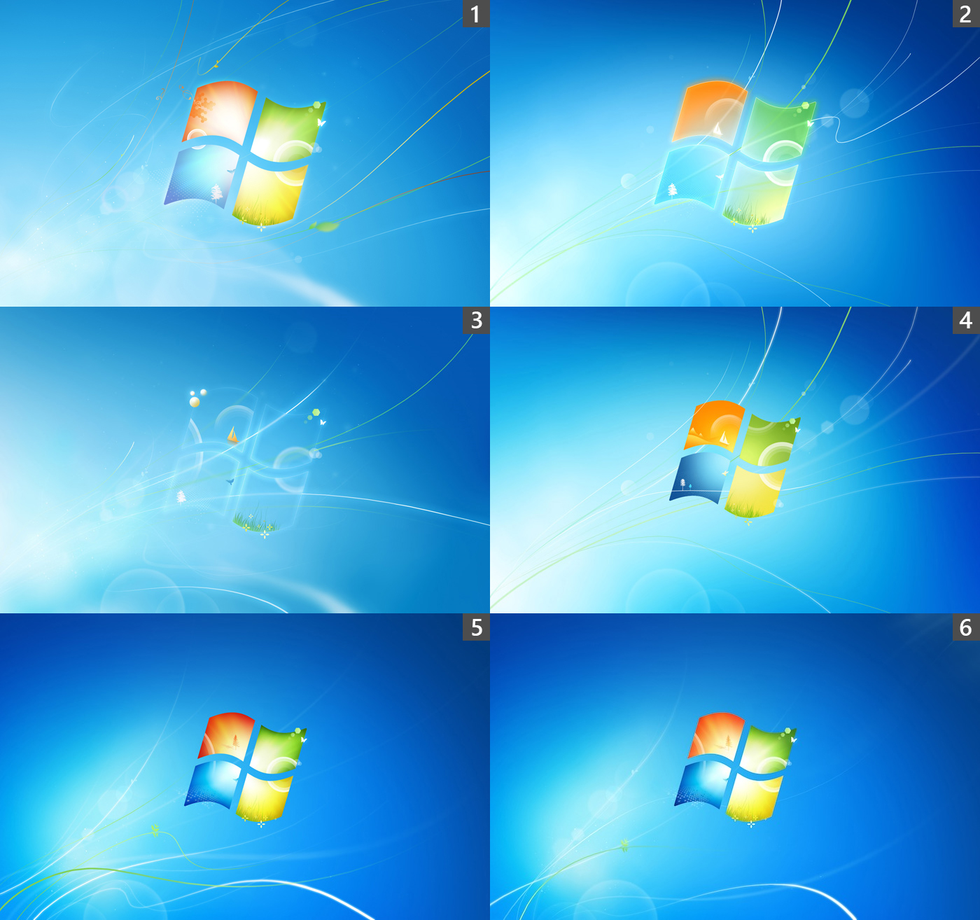 Desktop Wallpaper Vista: Die Standard-Wallpaper Von Windows