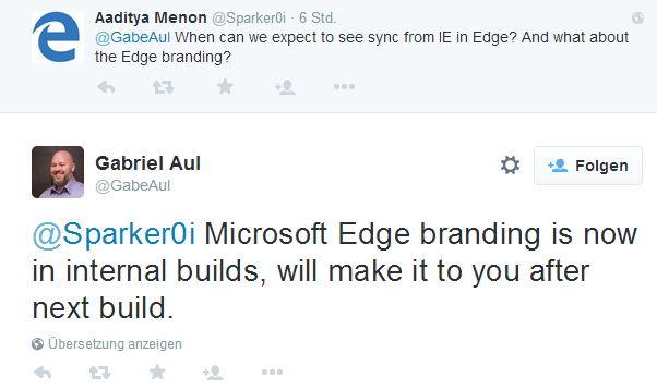 Windows 10: In der nächsten  Build wird aus Spartan dann offiziell Edge (Video)