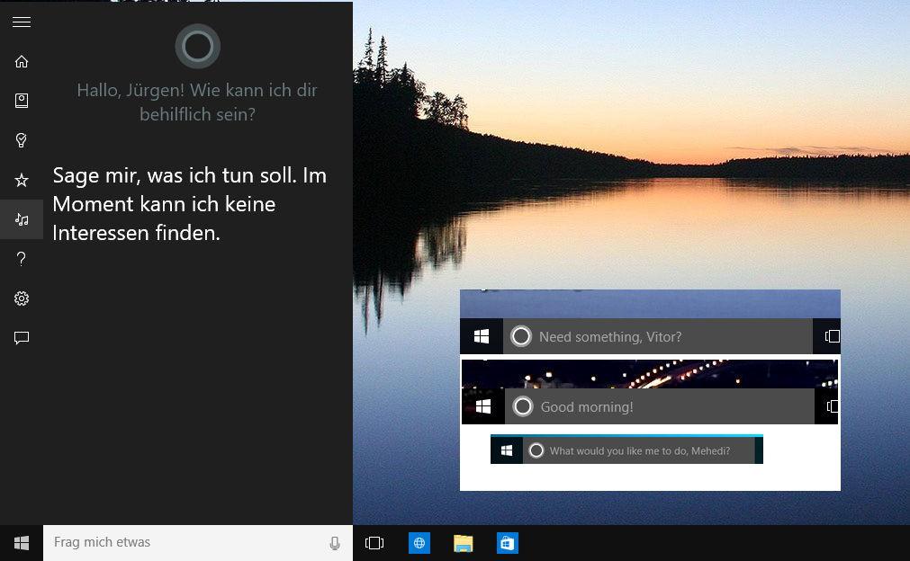 Windows 10 Build 10147 – Cortana hat nun noch mehr drauf