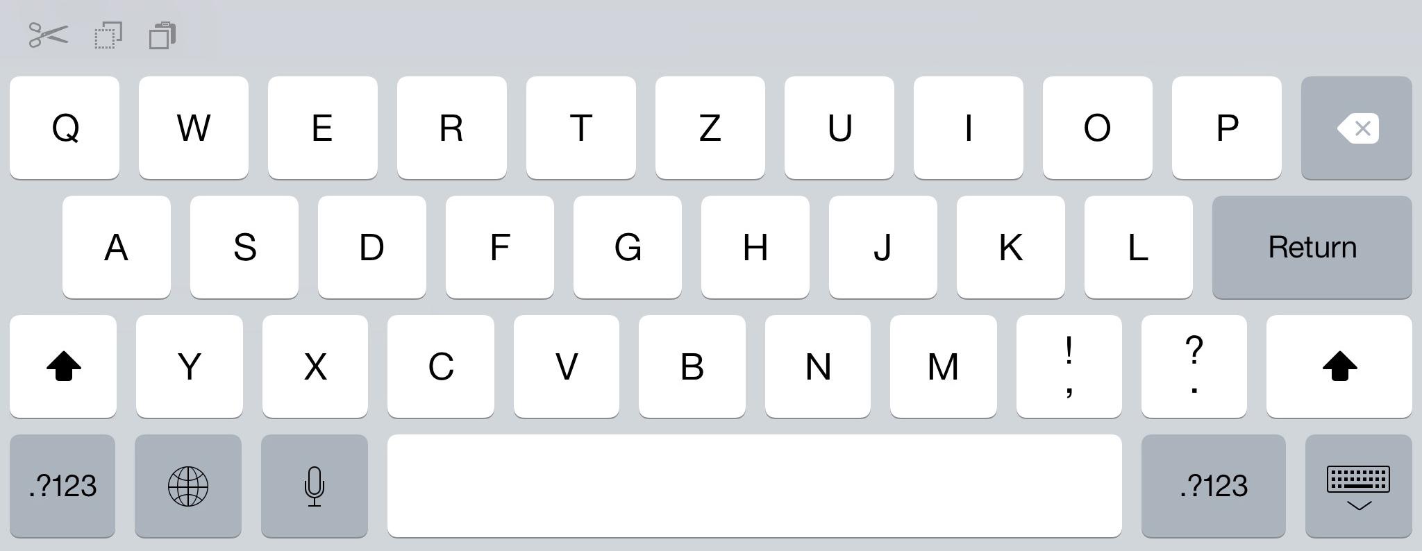ipad tastatur keyboard