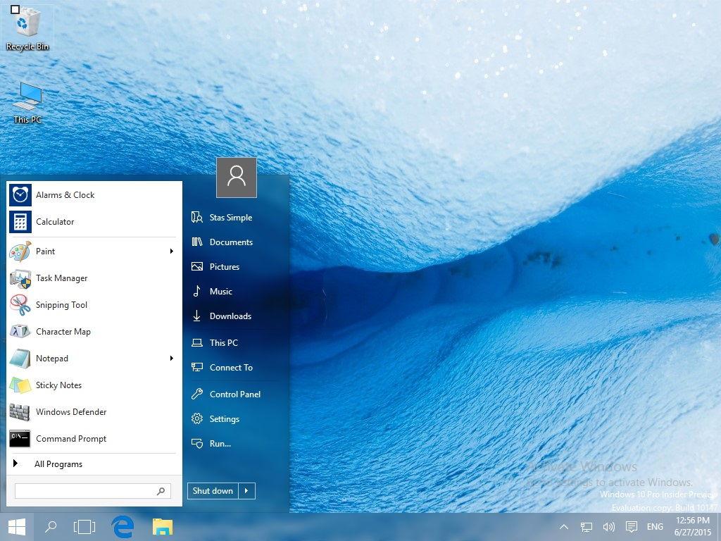 StartIsBack++ für Windows 10 kann getestet werden