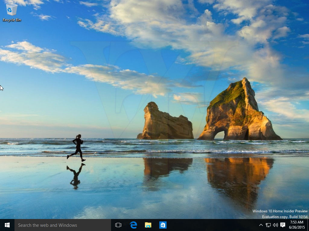 Windows 10 Build 10154 kommt mit einem neuen Wallpaper