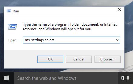 Windows 10: Einstellungen direkt aufrufen (Ausführen-Dialog)