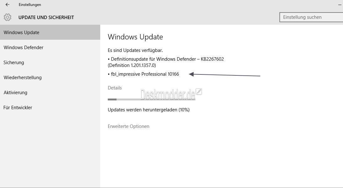 Windows 10 Build 10166 steht zum Download bereit (Fast-Ring)