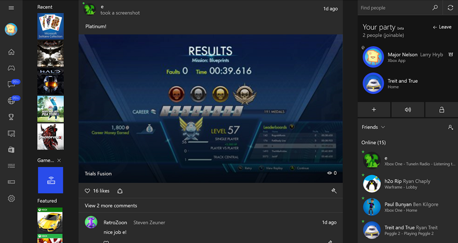 Game-Streaming für Xbox One User mit einem Windows 10 PC nun nutzbar