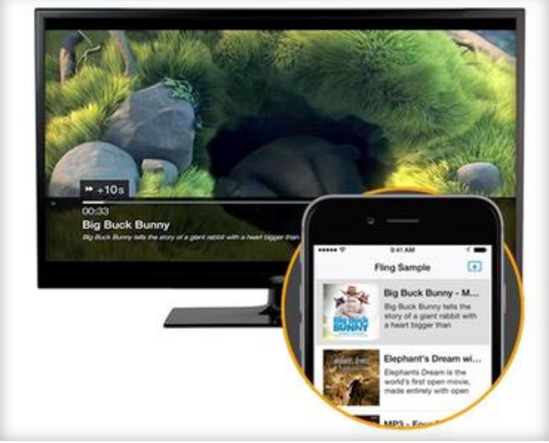 Amazon Fling: Inhalte drahtlos an Fire-TV Geräte übertragen