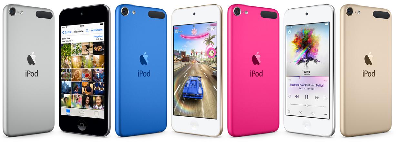 Apple aktualisiert den iPod: frische Farben und bessere Hardware