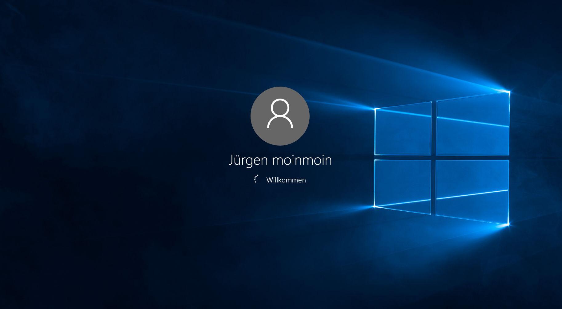 Windows 10 Login Background Changer – Hintergrundbild,  -Farbe der Anmeldung ändern