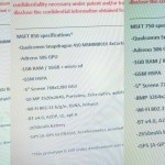 Leak: Microsoft Lumia 550, 750 und 850  Spezifikationen
