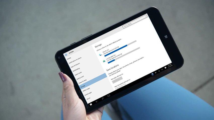 Windows 10: Microsoft wird App-Installation auf SD-Karten nachliefern